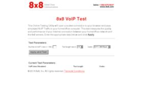 Voiptest.8x8.com