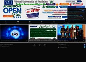 Vu.edu.pk