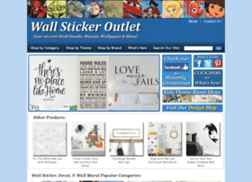 wallstickeroutlet.com