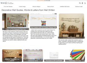 Wallwritten.com