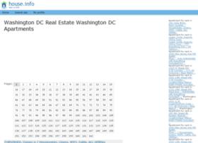 Washington.dc.house.info
