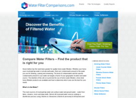 waterfiltercomparisons.com