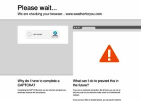 weatherforyou.com