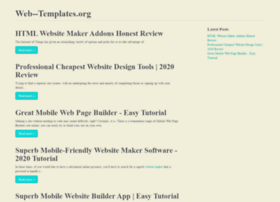 web--templates.org