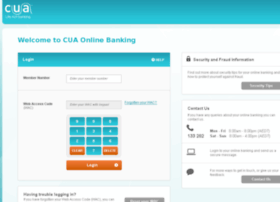 Webbanker.cua.com.au