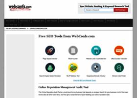 webconfs.com