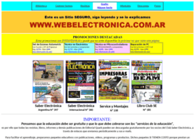 Webelectronica.com.ar