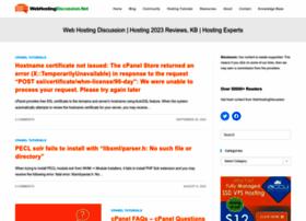 webhostingdiscussion.net