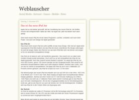 weblauscher.blogspot.com