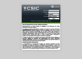 Webmail.csic.es