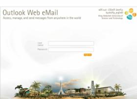 Webmail.kaust.edu.sa
