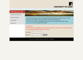 Webmail.leeds.ac.uk