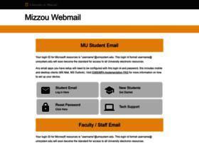 webmail.missouri.edu