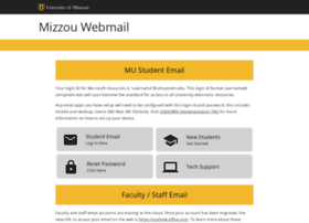 webmail.mizzou.edu