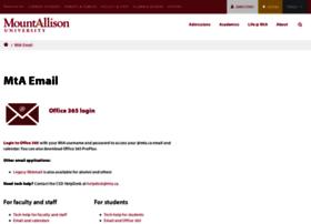 webmail.mta.ca