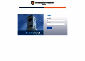 Webmail.udec.cl