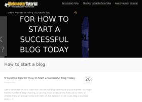 webmaster-tutorial.com