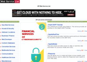 webservicelist.com