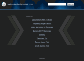 webvideofordummies.com