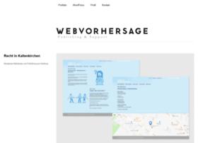 webvorhersage.de