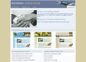 weddingannouncer.com