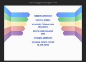 weddingspeechdigest.com