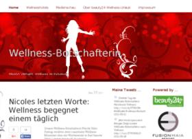 wellness-botschafterin.de