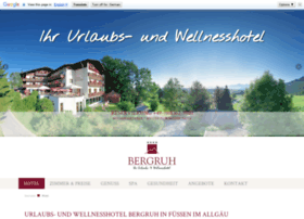 wellnesshotel-bergruh.de