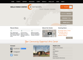 Wellsfargocenterarts.org