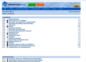 wetenschapsforum.nl