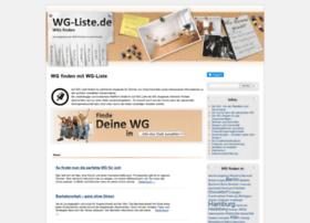 wg-liste.de
