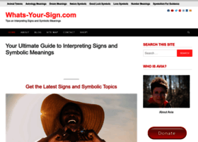 whats-your-sign.com