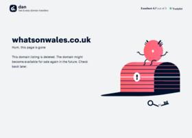 whatsonwales.co.uk