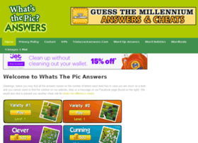 whatsthepicanswers.com