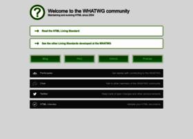whatwg.org