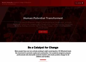 wheelock.edu