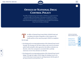whitehousedrugpolicy.gov