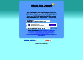 whoistheowner.net