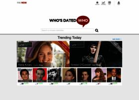 whosdatedwho.com