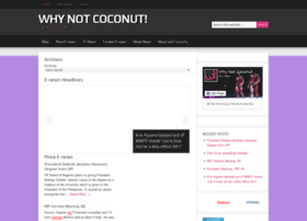 whynotcoconut.com