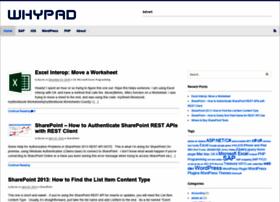 Whypad.com