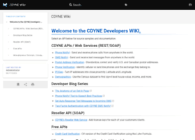 wiki.cdyne.com