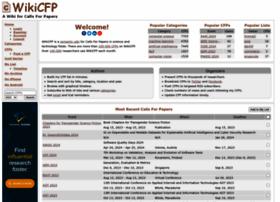 Wikicfp.com