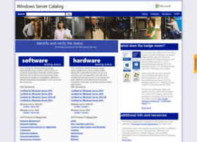 windowsservercatalog.com