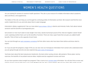 womens-health-questions.com