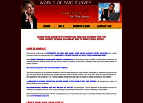 worldofpaidsurveys.com