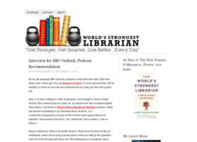 Worldsstrongestlibrarian.com