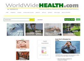 Worldwidehealth.com