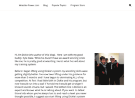 wrestler-power.com