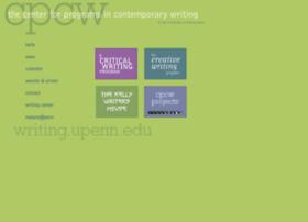 Writing.upenn.edu